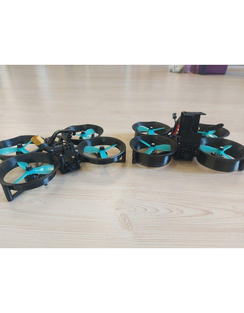 Speeddrones Chopped Squirt ducts - set van 2