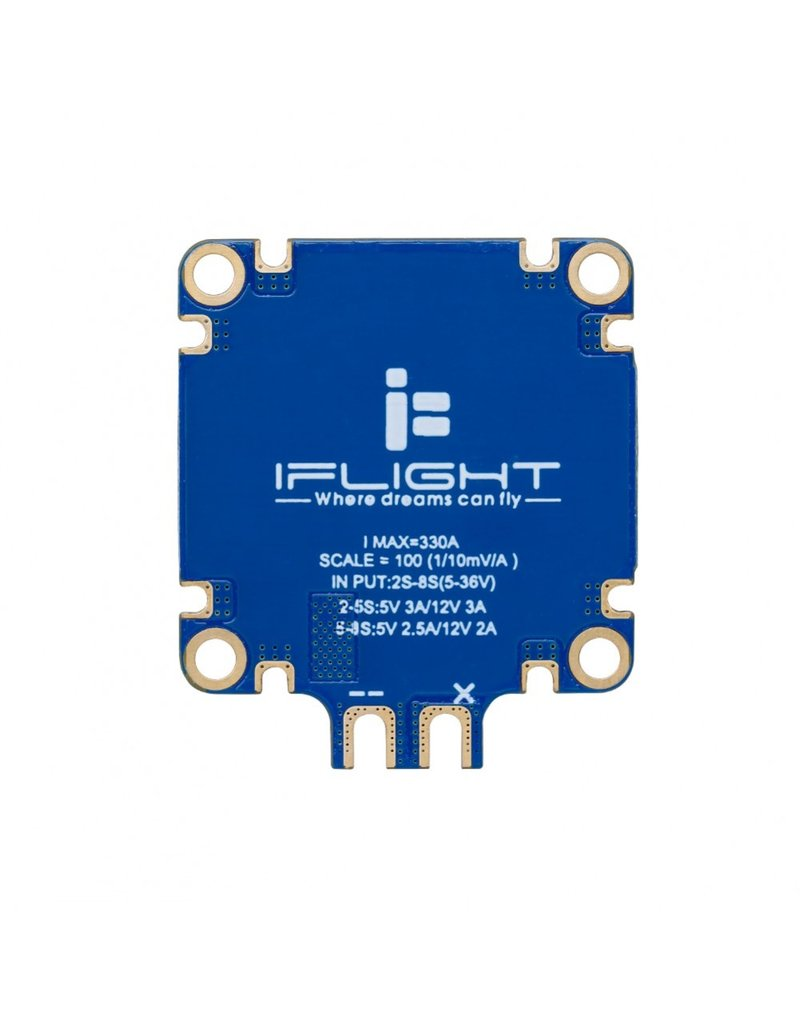iFlight Succex PDB  - tot 8S - 5V/12V BEC