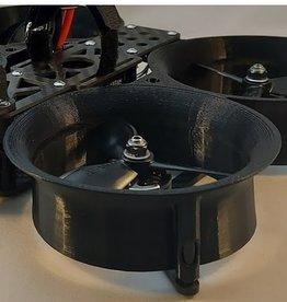 Speeddrones Propellers gesneden voor Squirt Zwart