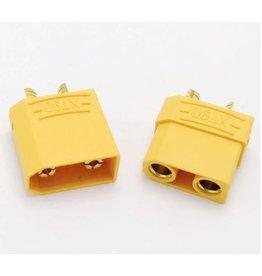 Speeddrones XT90 male + female plug