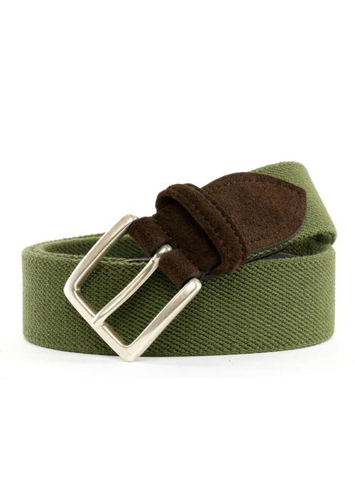 Anderson's Anderson's Fabric Belt Groen
