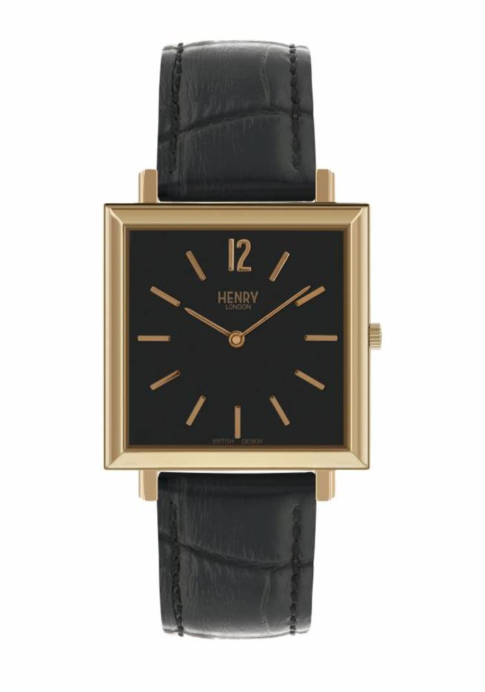 Henry London Horloge Heritage  HL34-QS-0270