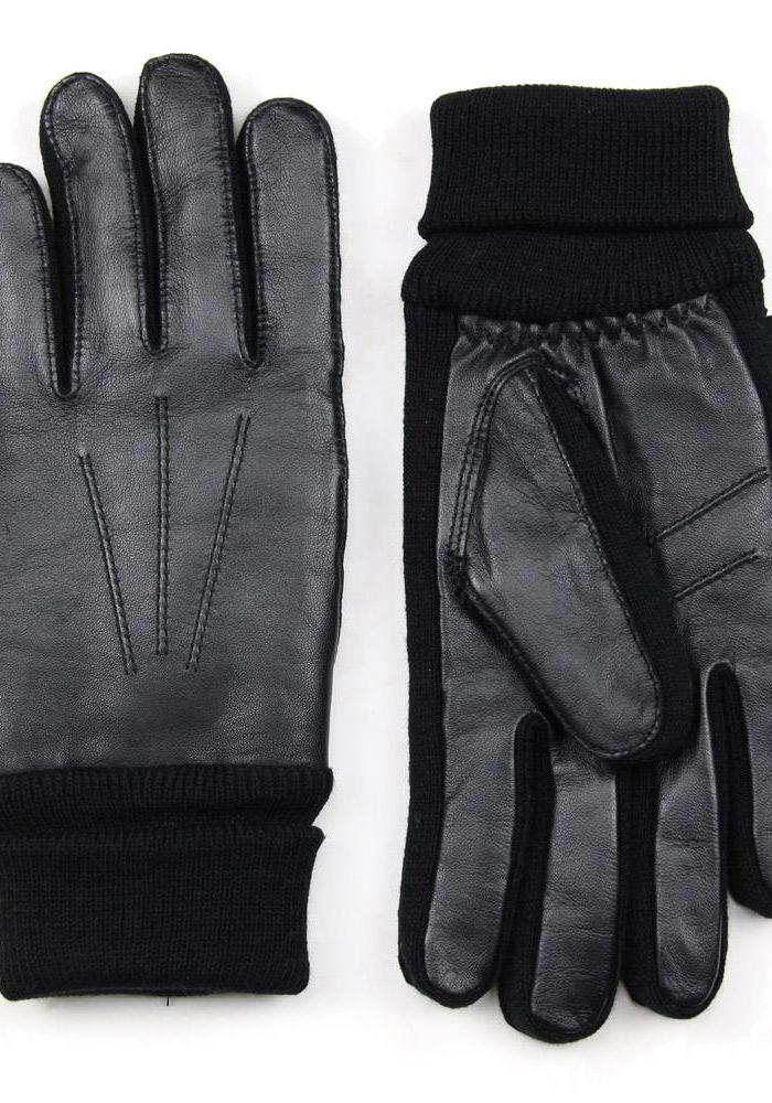 Gaucho Sandwich Gloves Nappa Black
