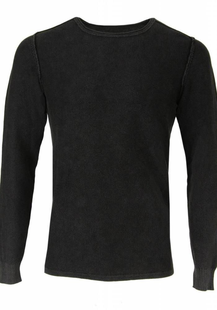 Gabba Pullover Owen O-Neck Vintage Black