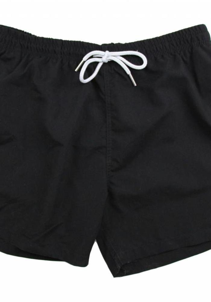 Avenue Tropicale Swim Shorts Eyes Only Black