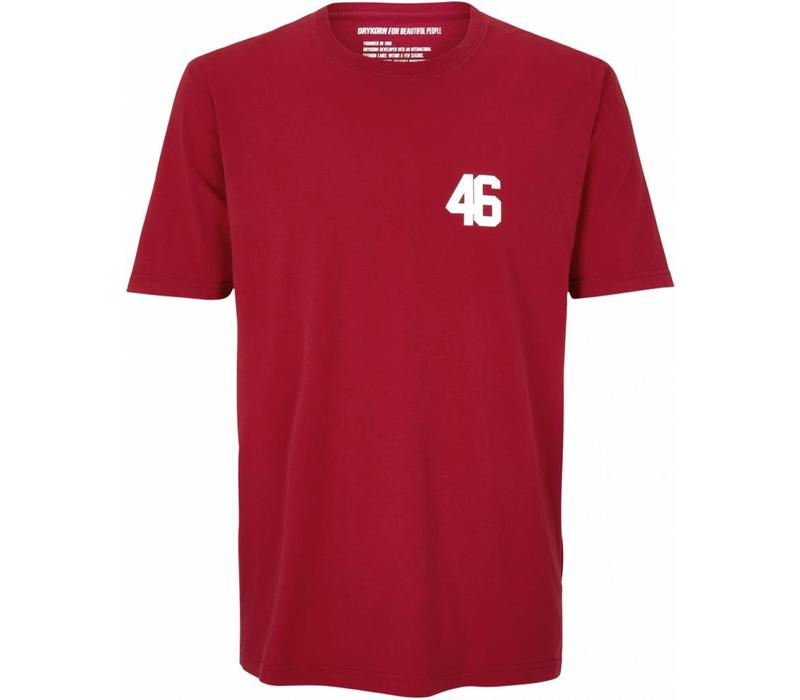 Drykorn T-Shirt Rufus 46 Rood