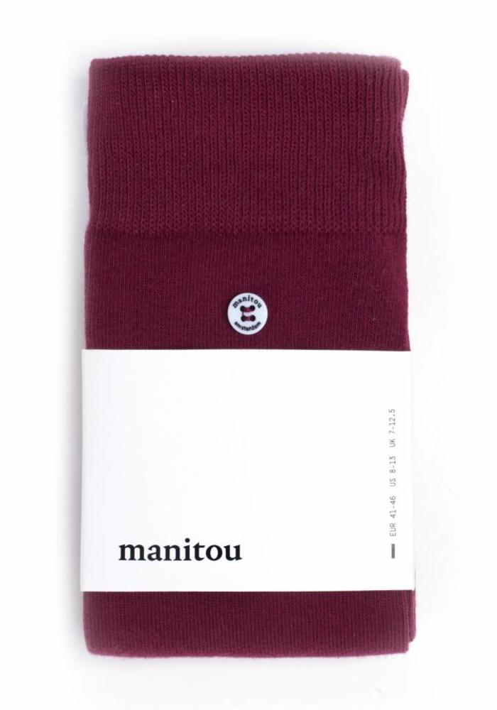 Manitou Amsterdam Socks Red Rock
