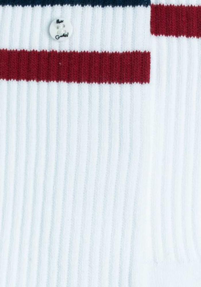Alfredo Gonzales Socks Z-Sock White