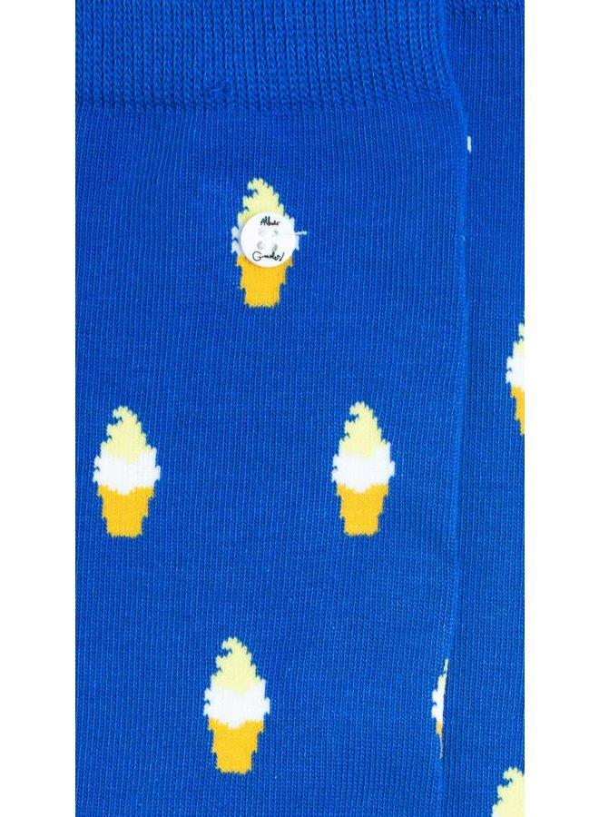 Alfredo Gonzales Socks Ice Cream Dark blue