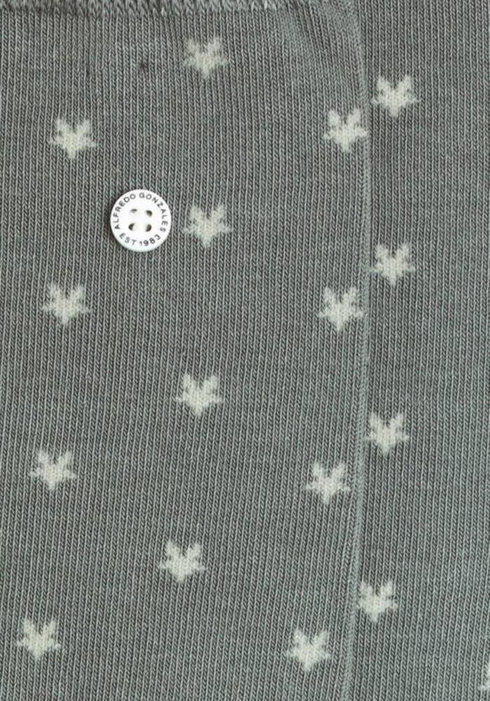 Alfredo Gonzales Socks Stars Grey