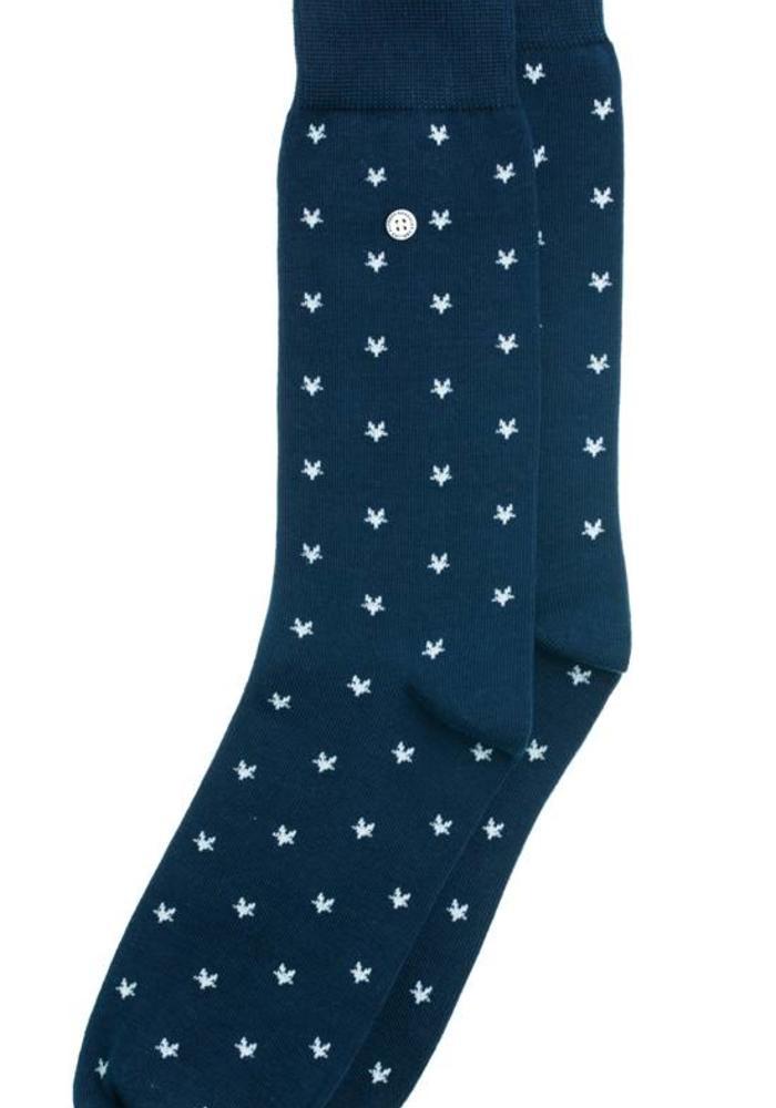 Alfredo Gonzales Socks Stars Navy