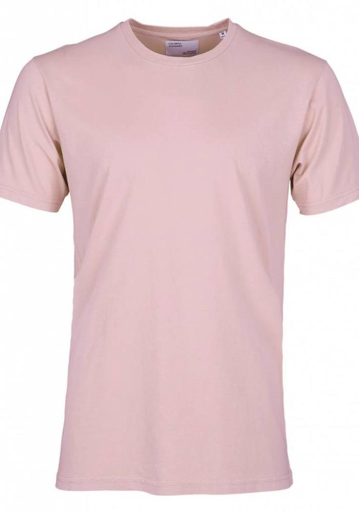 Colorful Standard Organic Organic T-Shirt Faded Pink