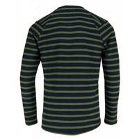 The Goodpeople Sweater Stall Turn Navy / Groen