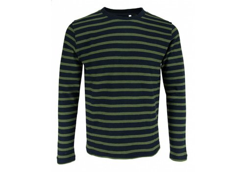 The Goodpeople The Goodpeople Sweater Stall Turn Navy Green