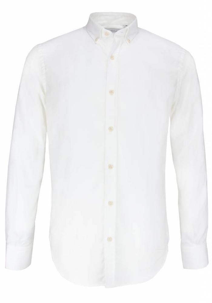 The Goodpeople Overhemd Locklear Off White