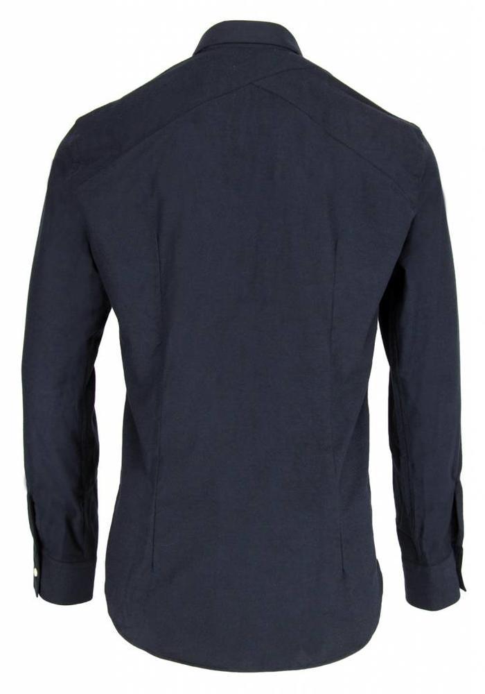 The Goodpeople Overhemd Locklear Navy