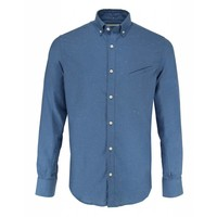 The Goodpeople Overhemd Cole Brothers Blauw