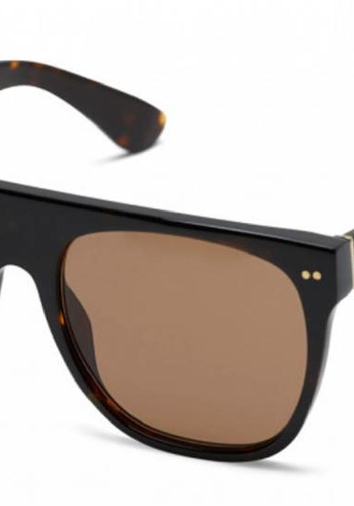 Kapten & Son Sunglasses Moscow Tortoise Dark Brown