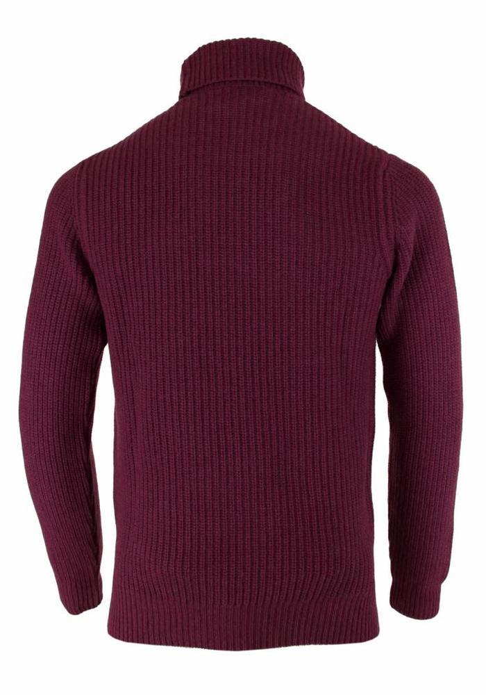Wool & Co. Turtleneck WO 4055 Bordeaux