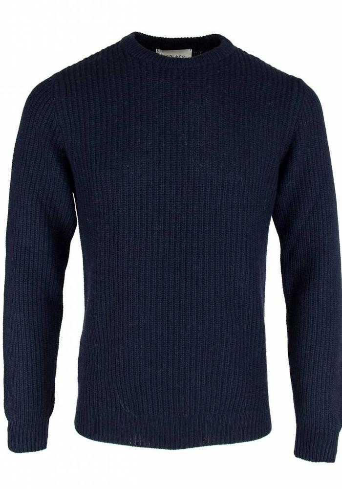 Wool & Co. Trui WO 4056 Navy