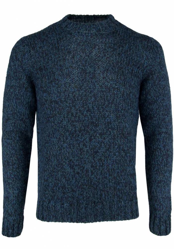 Wool & Co. Jumper WO 4230 Petrol Melange
