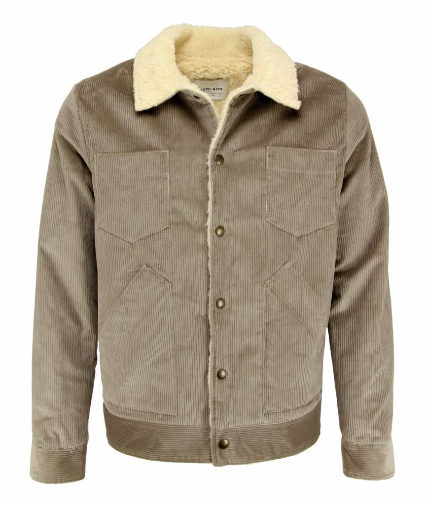 Wool & Co. Bomber WO 4410 Beige