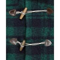 Wool & Co. Duffle Coat WO 4370 Navy Groen