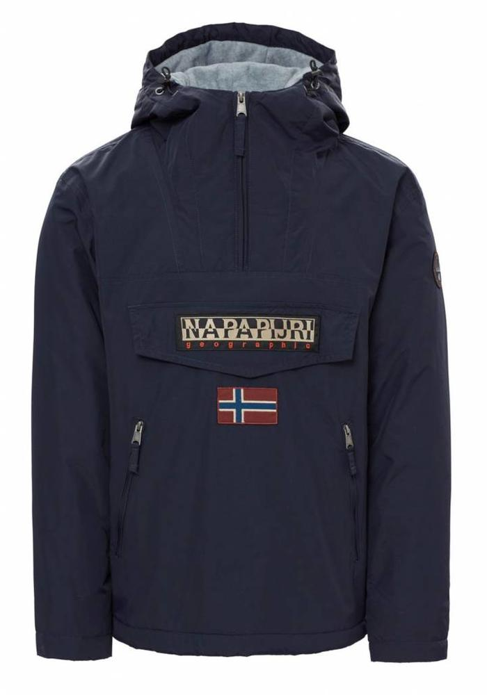 Napapijri Rainforest Pocket Anorak N0YGNL Navy