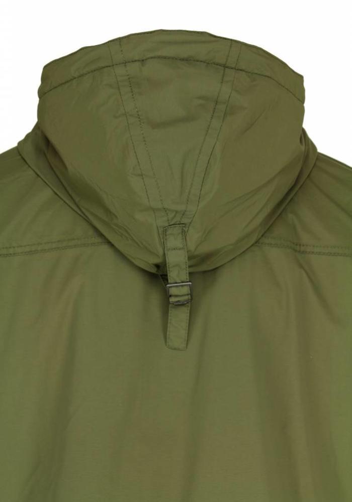 Napapijri Rainforest Pocket Anorak N0YGNL Army Groen