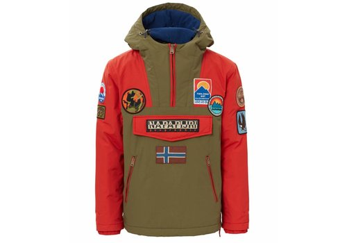 Napapijri Napapijri Jacket Rainforest Multi Patch