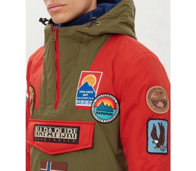 Napapijri Jacket Rainforest Multi Patch