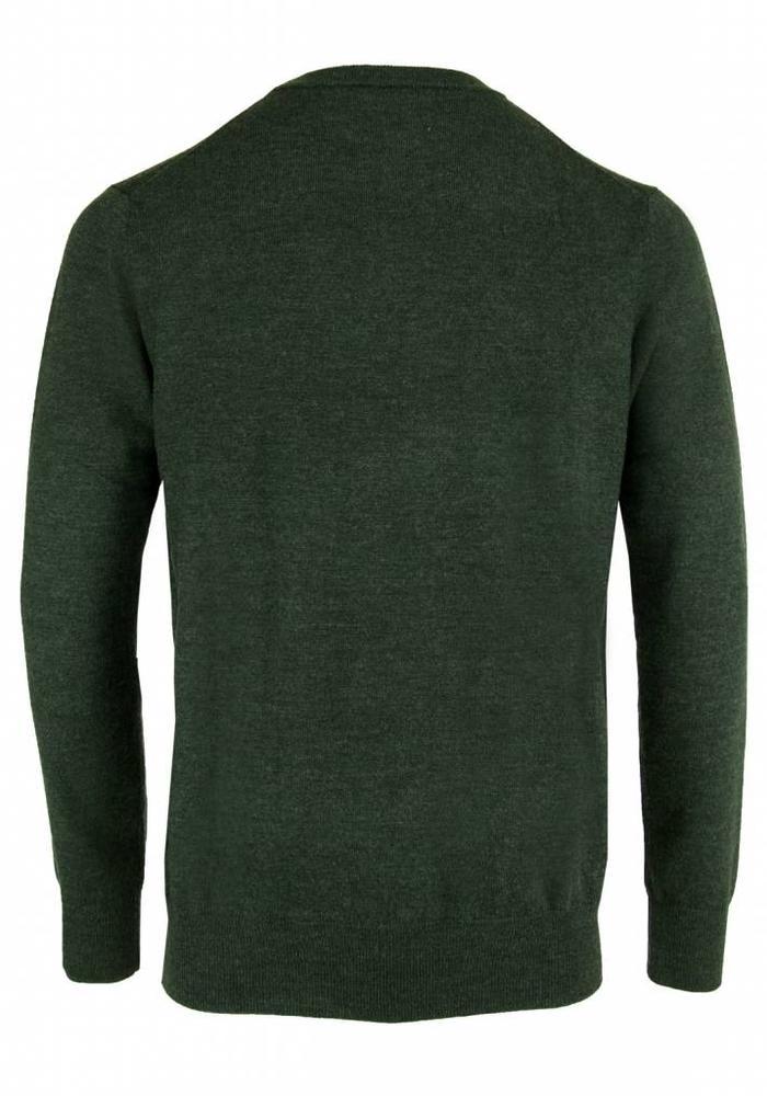 Les Deux Frères Essentials Merino Pullover Green
