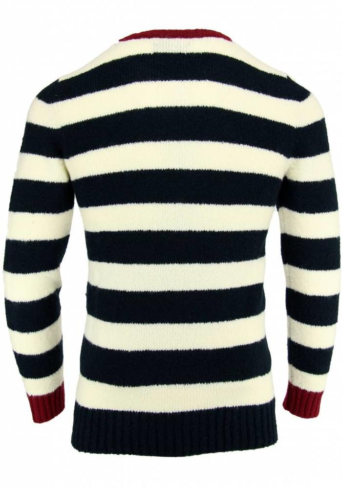 Antagon striped sweater ATML 132