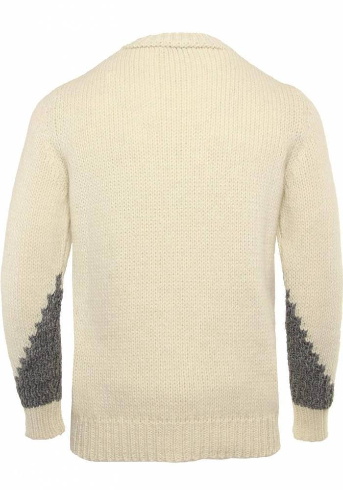 Daniele Alessandrini Knitwear Scale Grey White