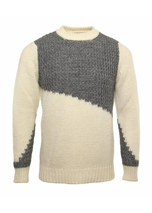 Daniele Alessandrini Daniele Alessandrini Knitwear Scale Grey White