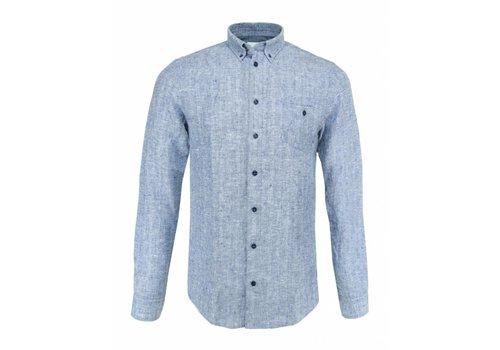 Blue de Gênes Overhemd Bacco Matricard
