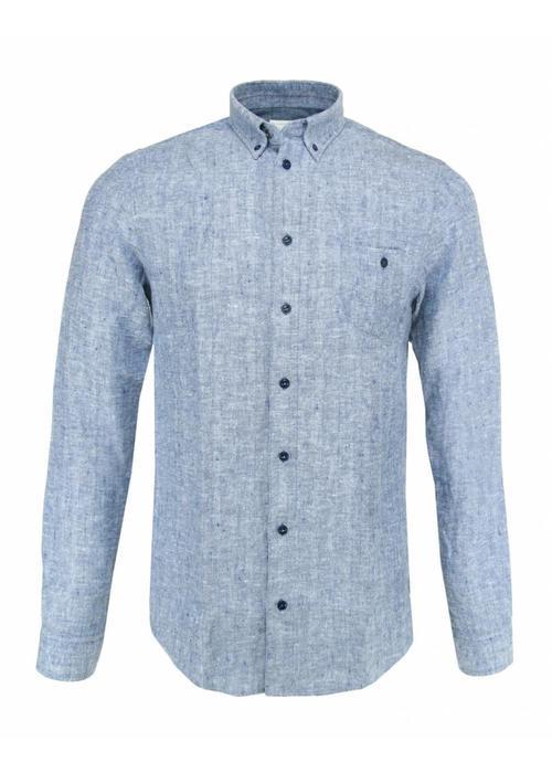 Blue the Gênes Shirt Bacco Matricard