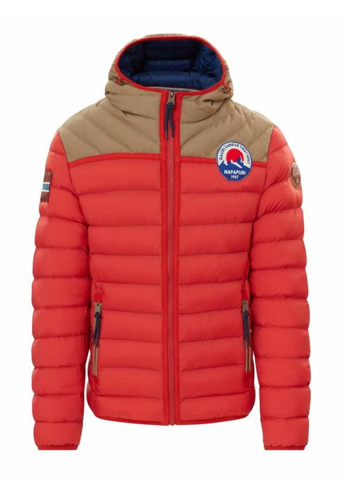 Napapijri Napapijri Jacket Articage Orange Red