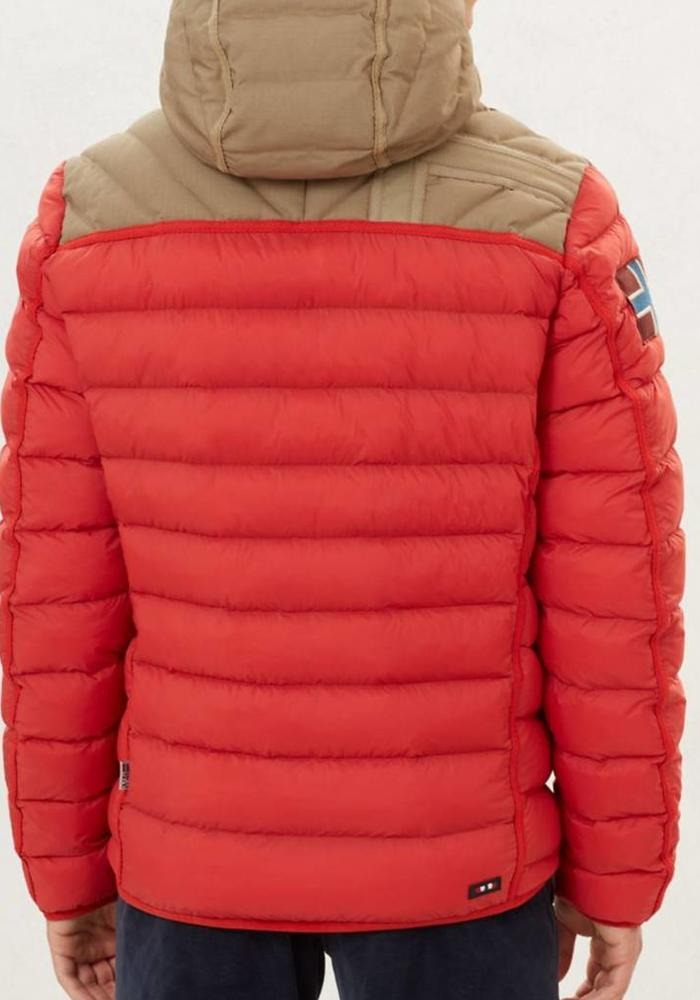 Napapijri Jacket Articage Orange Red