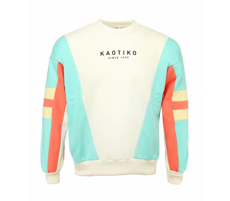 Kaotiko Sweater Tokio Ecru / Pastel Multi
