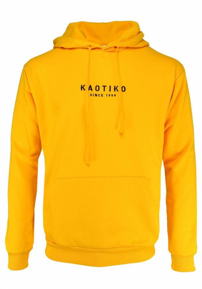 Kaotiko Hoodie Oro Okergeel