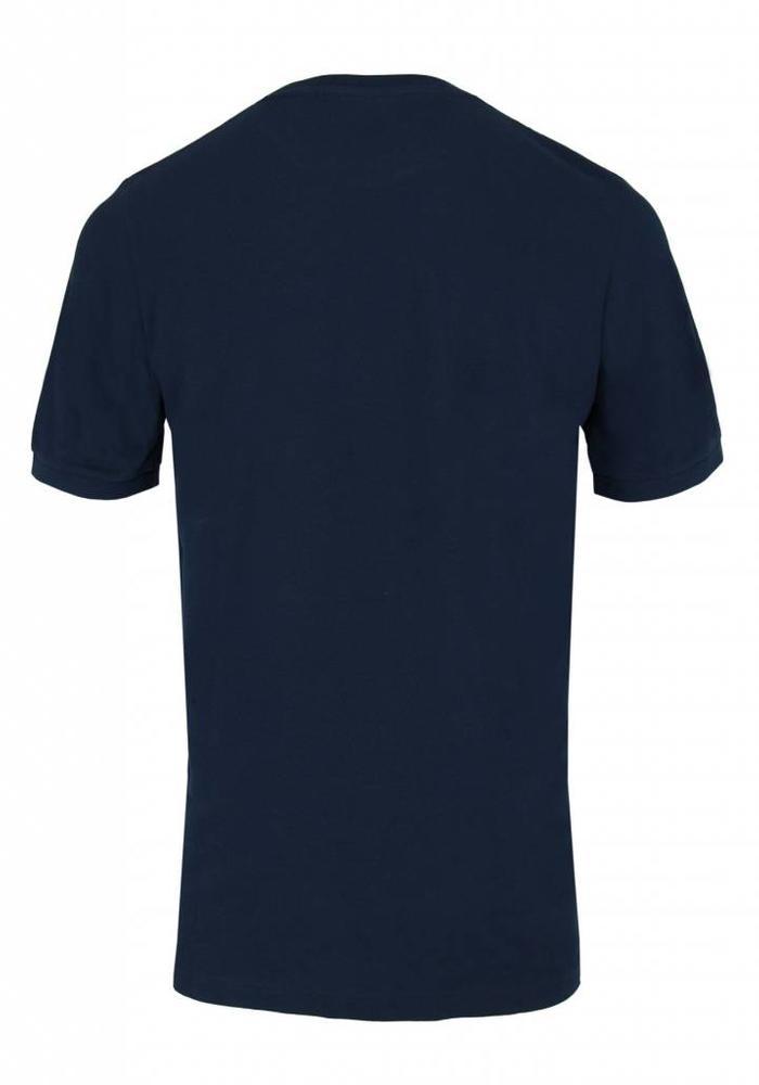 Armedangels T-Shirt Loui Navy