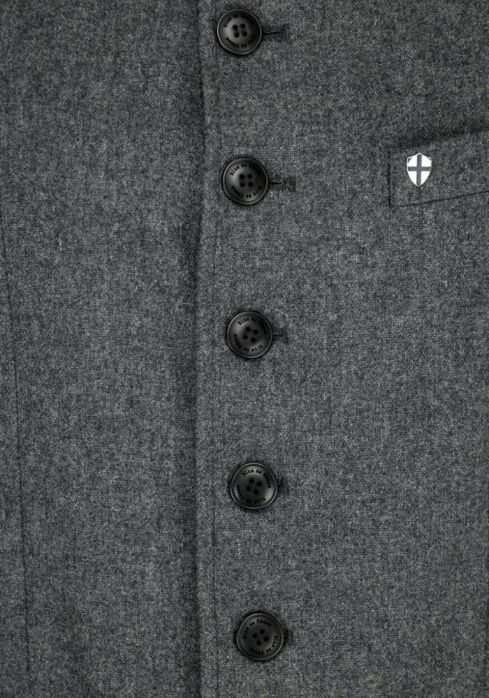 Blue de Genes Casella Officers Blazer Chanel Grey
