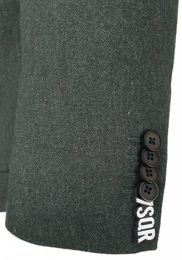 7 Square Blazer Solivagant Grey