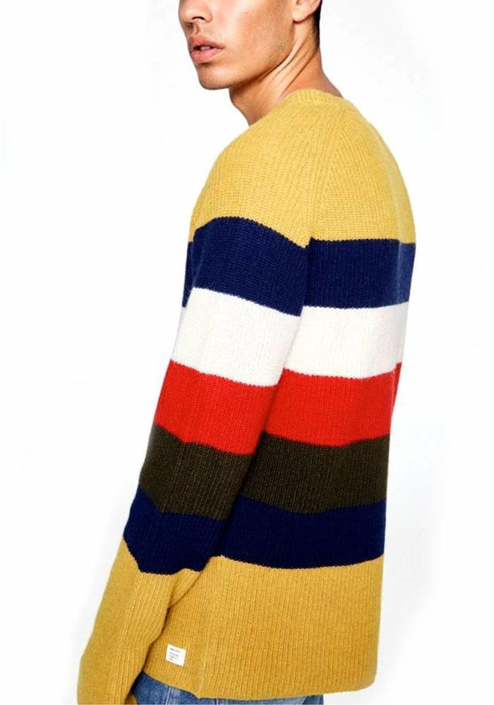 Armed Angels Jumper Benno Stripes Multicolor