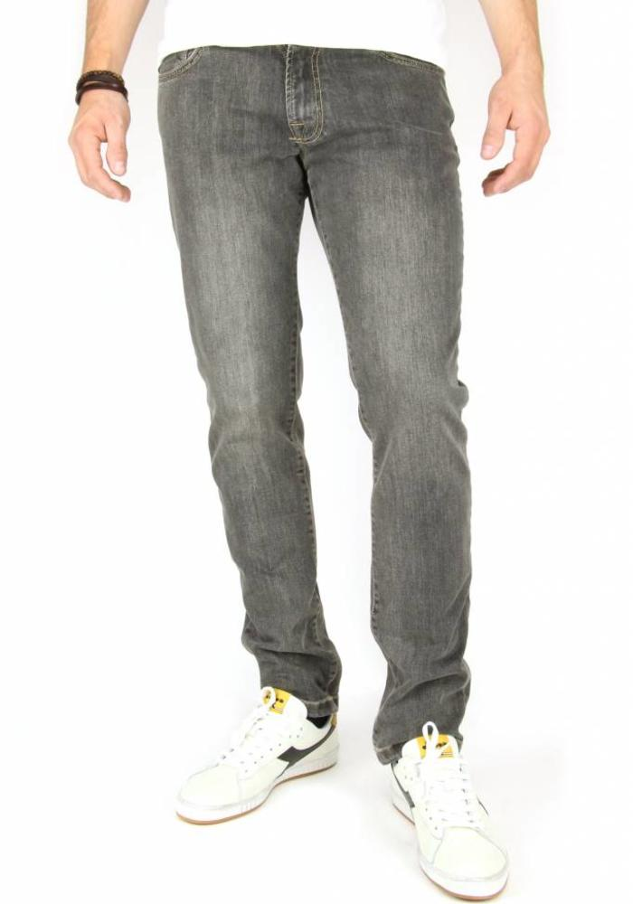 Four.Ten Industry Jeans T988 Slim-Fit Grey