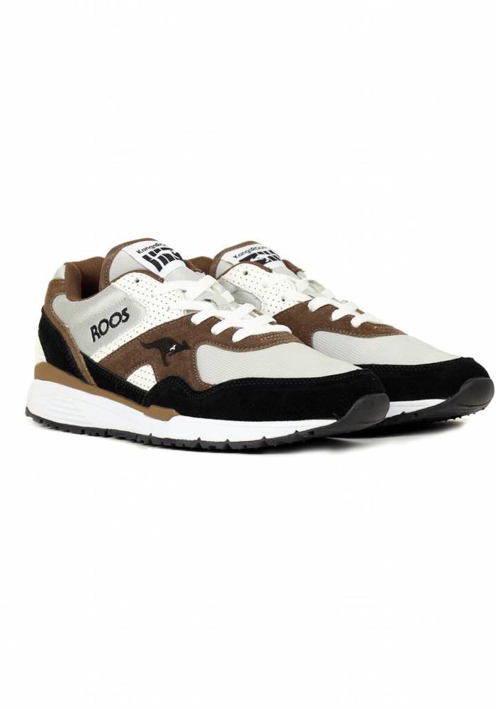 Kangaroos Sneakers Runaway Roos Brown Black