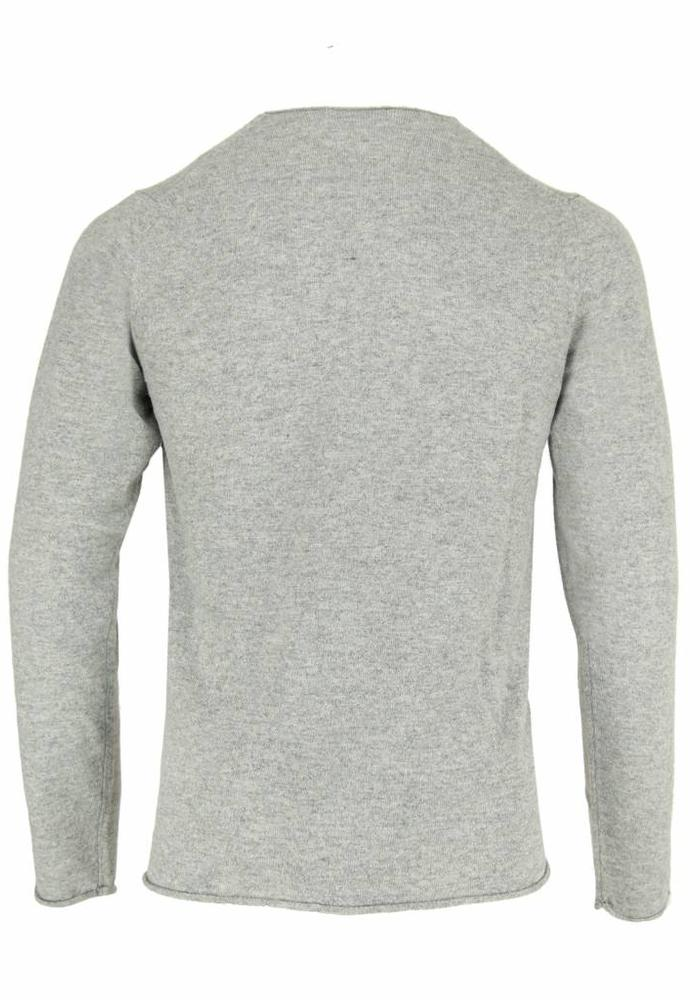 Wool & Co. Knitwear Trui WO 0045 Grijs