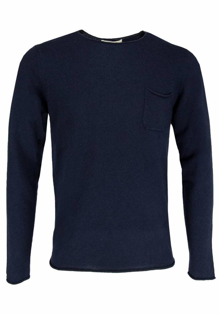 Wool & Co. Knitwear Pullover WO 0045 Navy