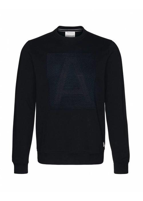 Armedangels Armedangels Sweater Jay Letter Black